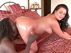 Ass, Babe, Bareback, Big Ass, Big Black Cock, Bikini, Blowjob, Brunette, Corina Jayden, Couple,