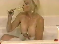 Amateur, Amazing, Bathroom, Bedroom, Big Tits, Blonde, Drunk, Fake Tits, Lingerie, Masturbation,