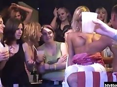 CFNM, Club, Group Sex, Orgy, Party, Striptease,