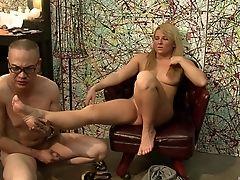 Ass, Blonde, Blowjob, Couple, Cute, Fetish, Foot Fetish, Hardcore, Long Hair, Natural Tits,