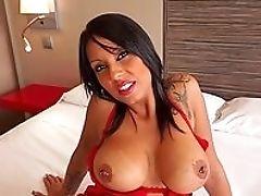 Big Cock, Big Tits, Blowjob, Brunette, Close Up, Doggystyle, Facial, HD, Huge Cock, Lingerie,