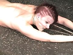жопа, резиновая кукла, обнаженные, рыжие, Slut,