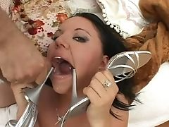 Anal Sex, Blowjob, Bold, Brunette, Cumshot, Group Sex, Handjob, Hardcore, Lindsay Kay, Mmf,
