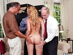 Amazing, Blonde, Boobless, College, Cumshot, Facial, Gangbang, Old And Young, Pornstar, Raylin,