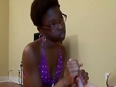 African, Big Cock, Black, Handjob,