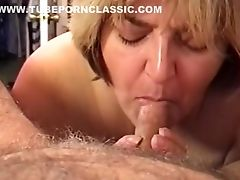 Amateur, Blowjob, Classic, Cum, Cum Swallowing, Dick, Felching, Jizz, MILF, Retro,