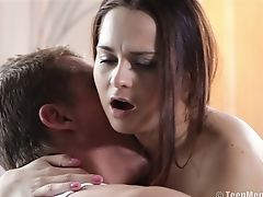 Babe, Blowjob, Boobless, Couple, Cute, Doggystyle, Hardcore, Licking, Long Hair, Missionary,