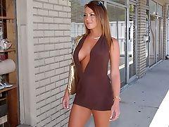 Ass, Big Ass, Car, Licking, Lindsey Lovehands, MILF, Redhead, Striptease, Tanned,