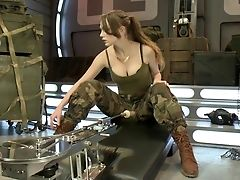 Army, Babe, Blonde, Brutal, Close Up, Cute, Dildo, Experienced, Hardcore, Horny,