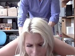 Ass, Blonde, Blowjob, Boobless, Cop, Cumshot, Dirty, Facial, Handjob, HD,
